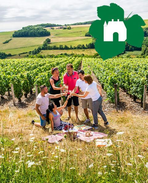 Pique Nique Vignoble de Champagne - Aisne Tourisme